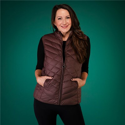 David Barry Quilted Gilet