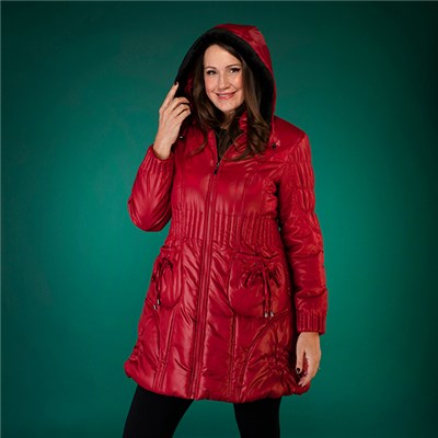 David Barry Quilted Puffer Coat