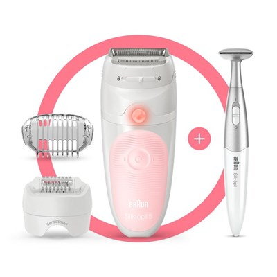 Braun Silk-epil 5 5-820 Epilator for Women for Gentle Hair Removal