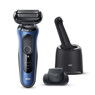 Braun Series 6 60-B7200cc Electric Shaver for Men with SmartCare Center, Precision Trimmer