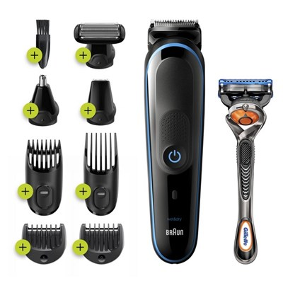Braun MGK5280 9-in-1 Beard Trimmer and Hair Clipper Grooming Kit