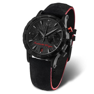 Vostok Europe Ladies Benediktas Vanagas Chronograph Watch with Silicone Strap