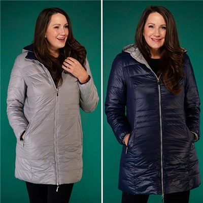 David Barry Reversible Padded Coat