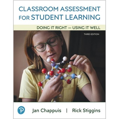 Classroom Assessment for Student Learning by Chappuis; Jan