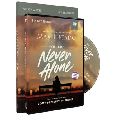 You Are Never Alone Study Guide with DVD by Lucado; Max