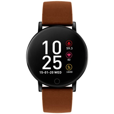 Reflex Active Series 5 - Smart Watch with Pu Leather Strap