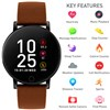 Reflex Active Series 5 Smart Watch with Pu Leather Strap