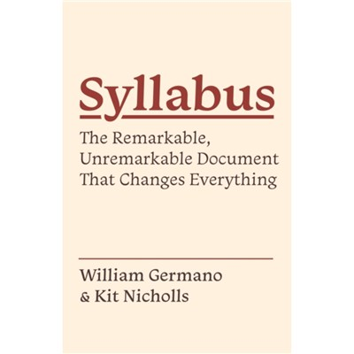 Syllabus by Germano; William|Nicholls; Kit