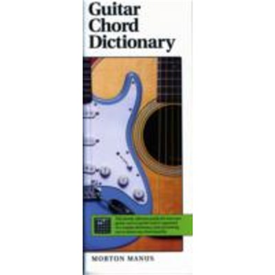 GUITAR CHORD DICTIONARY by MANUS; MORTON
