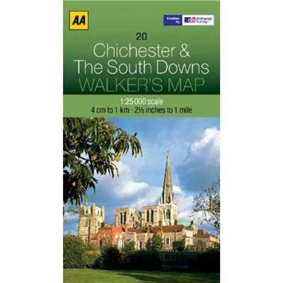 Chichester and The South Downs by AA Publishing