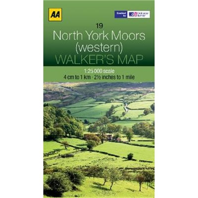 North York Moors (Western) by AA Publishing
