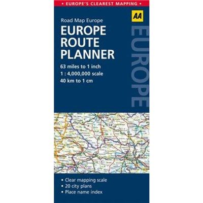 Europe Route Planner by AA Publishing