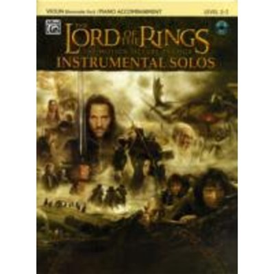 Lord of the Rings Instrumental Solos for Strings by SHORE; HOWARD