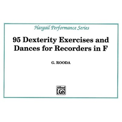 Finger Dexterity Exercises for Recorders in F by G Rooda