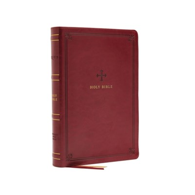 NRSV; Catholic Bible; Thinline Edition; Leathersoft; Red; Comfort Print by Catholic Bible Press