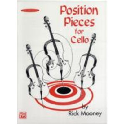 Position Pieces for Cello by Rick Mooney