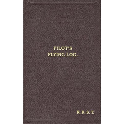 W/Cdr Robert Stanford Tuck Facsimile Flying Log Book by Tuck; Robert R.Stanford