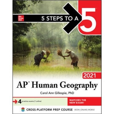 5 Steps to a 5: AP Human Geography 2021 by Gillespie; Carol Ann