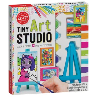 Tiny Art Studio by Editors of Klutz
