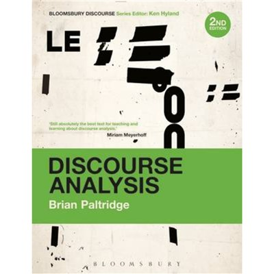 Discourse Analysis by Paltridge; Brian