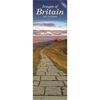 Images of Britain Slim Calendar 2021