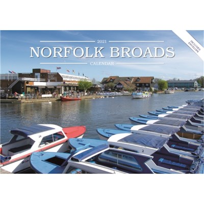 Norfolk Broads A5 Calendar 2021