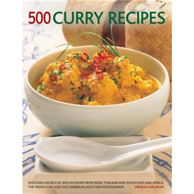 500 Curry recipes by Baljekar; Mridula