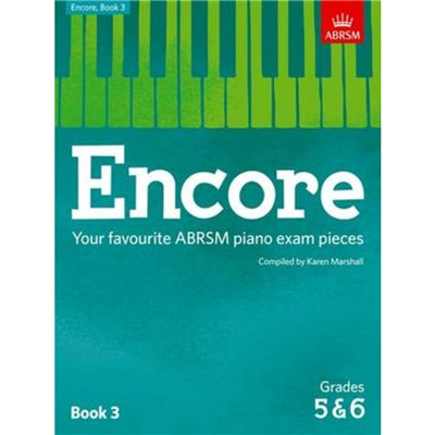Encore - Book 3 (Grades 5 & 6) by Edited by Karen Marshall