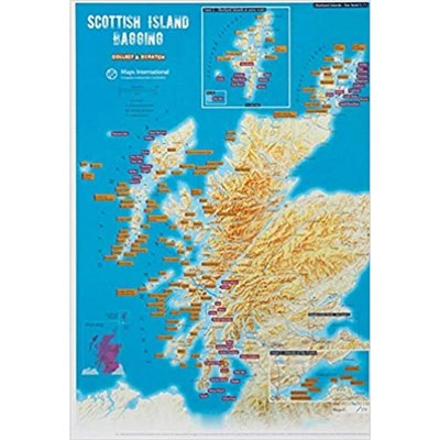 Scottish Island Bagging - Collect &amp, Scratch Print
