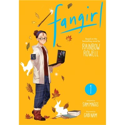 Fangirl, Vol. 1, The Manga Adapted Sam Maggs, Created Rainbow Rowell, Illustrated Nam Gab