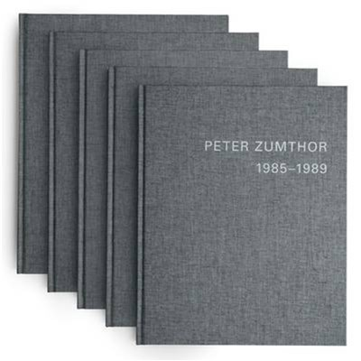Peter Zumthor by Zumthor; Peter