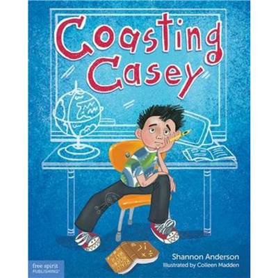Coasting Casey by Anderson; Shannon Latkin