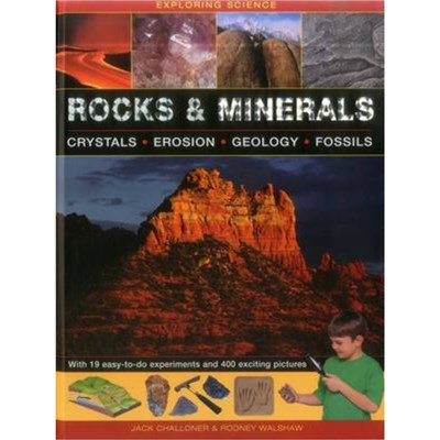 Exploring Science: Rocks & Minerals by Challoner Jack & Walshore Rodney