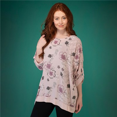 Mudflower Floral Print Tunic