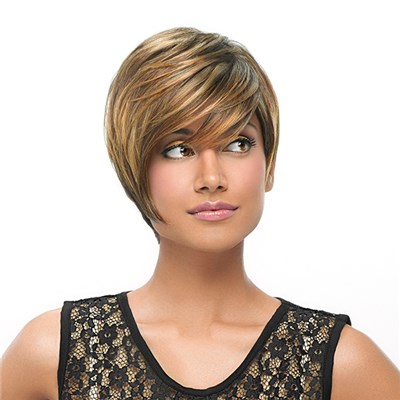 Angle Cut Wig by Hairdo