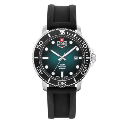 JDM Military Swiss Made Gent's Tango Watch with Silicone Strap