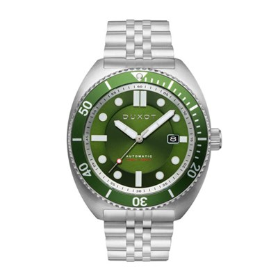 Duxot Gents Tortuga Automatic Watch with Stainless Steel Bracelet
