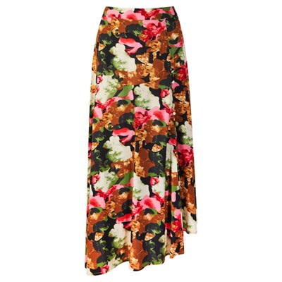 Joe Browns Asymmetric Floral Skirt