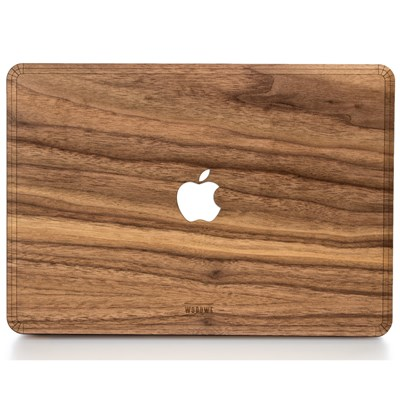 Macbook Case for Protection - Made of Real Wood - Walnut by WoodWe