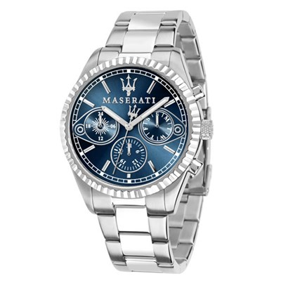 Maserati Gent's Competizione Watch with Stainless Steel Bracelet