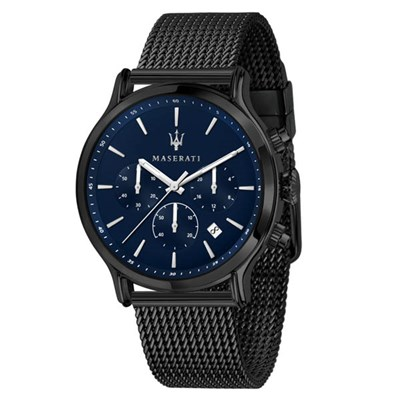 Maserati Gent's Epoca Chronograph Watch with Milanese Bracelet