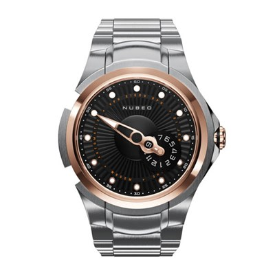 Nubeo Gents Ltd Ed Satellite 2.0 Automatic Watch with Stainless Steel Bracelet