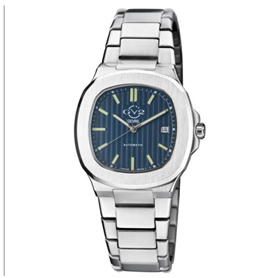 GV2 Gents Swiss Ltd Ed Potente Ruben & Sons Automatic Watch with Stainless Steel Bracelet