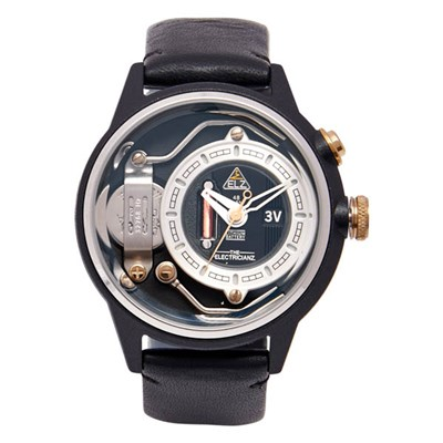 The Electricianz Gents Dresscode Watch with Genuine Leather Strap
