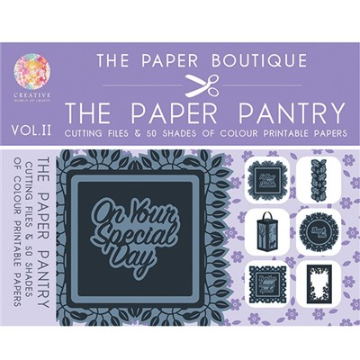 The Paper Pantry Cutting Files Volume II USB Key