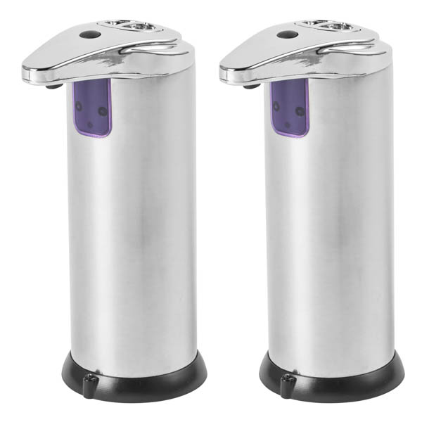 Beldray Sensor Soap 220ml Automatic Dispenser Twin Pack No Colour