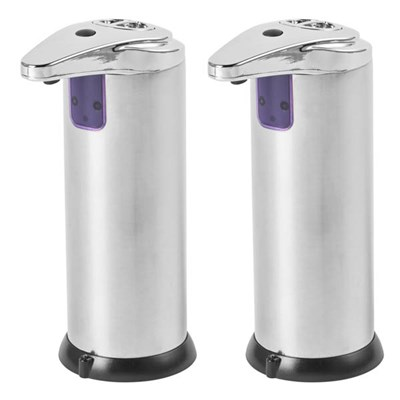 Beldray Sensor Soap 220ml Automatic Dispenser Twin Pack