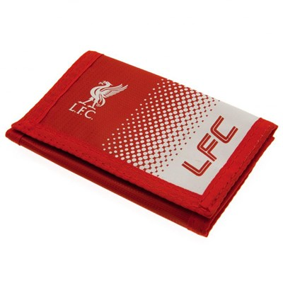 Liverpool FC Touch Fastening Fade Design Nylon Wallet