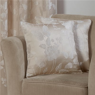 Butterfly Jacquard Cushion Cover Pair