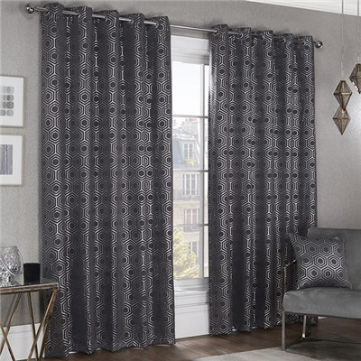 Hartford Lined Eyelet 66 Inch Curtains
